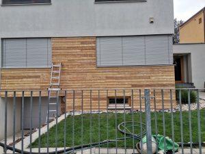 pieskovanie obkladového dreva