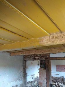 pieskovanie stropu